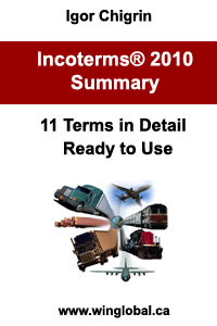 Incoterms® 2010 Summary